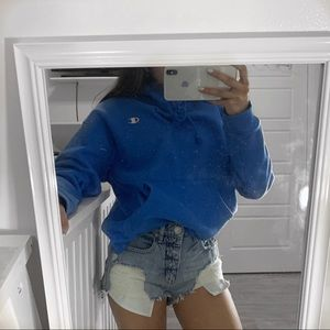BLUE CHAMPION SWEATER